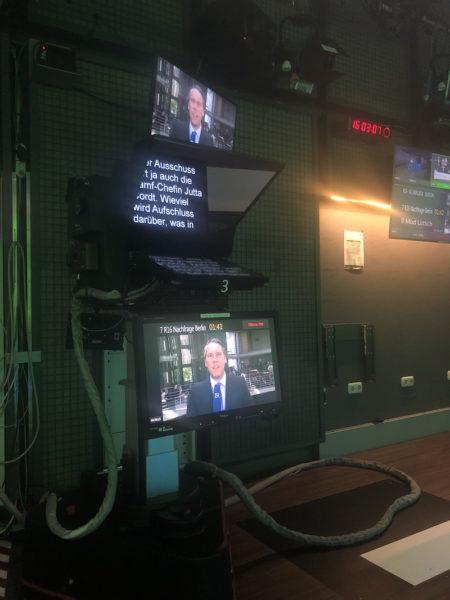 Live-Gespräch mit dem Korrespondenten im Hauptstadtstudio