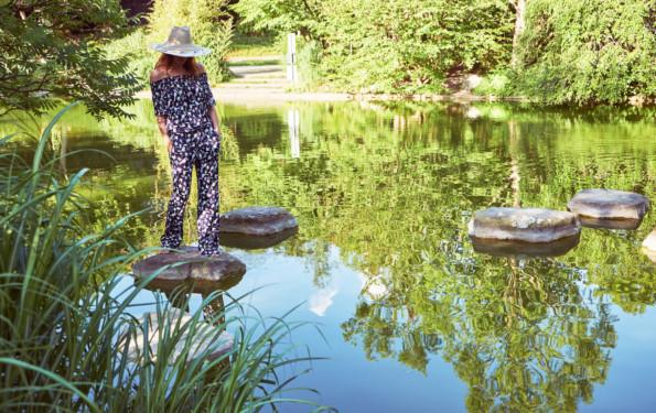 Nicki Marquardt Hut Laurel Modepilot Outfit