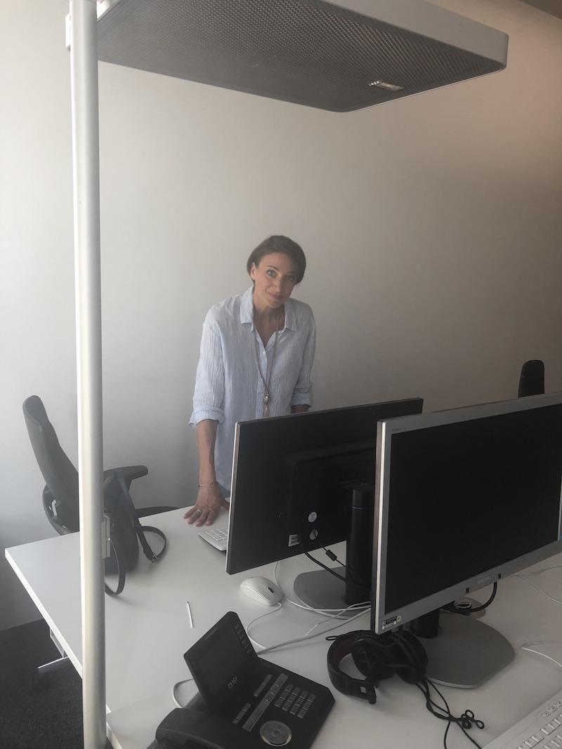 Sophie von Puttkamer Modepilot hinter den Kulissen Nachrichtenmoderation