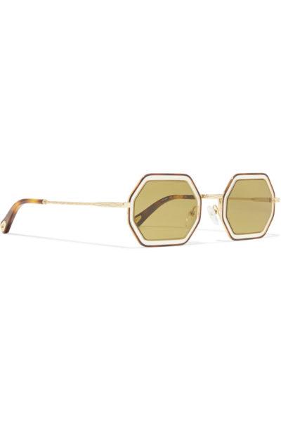 Achter Monat, acht Ecken: das neue Sonnenbrillen-Modell von Chloé