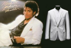 Boss weisser Anzug Michael Jackson Thriller Modepilot
