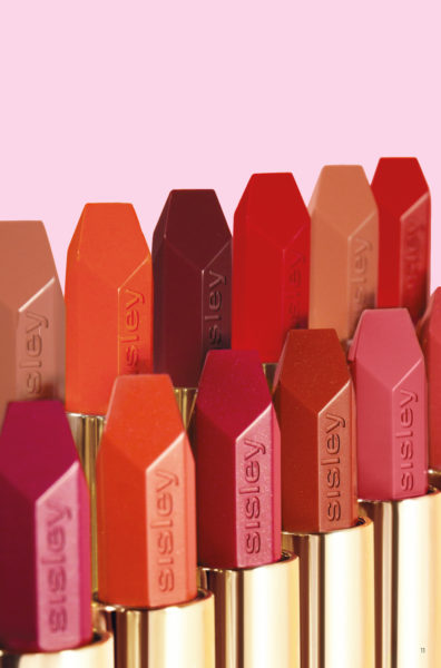 Close-up der neuen Farben: von Beige- bis Rot und Rotbraun