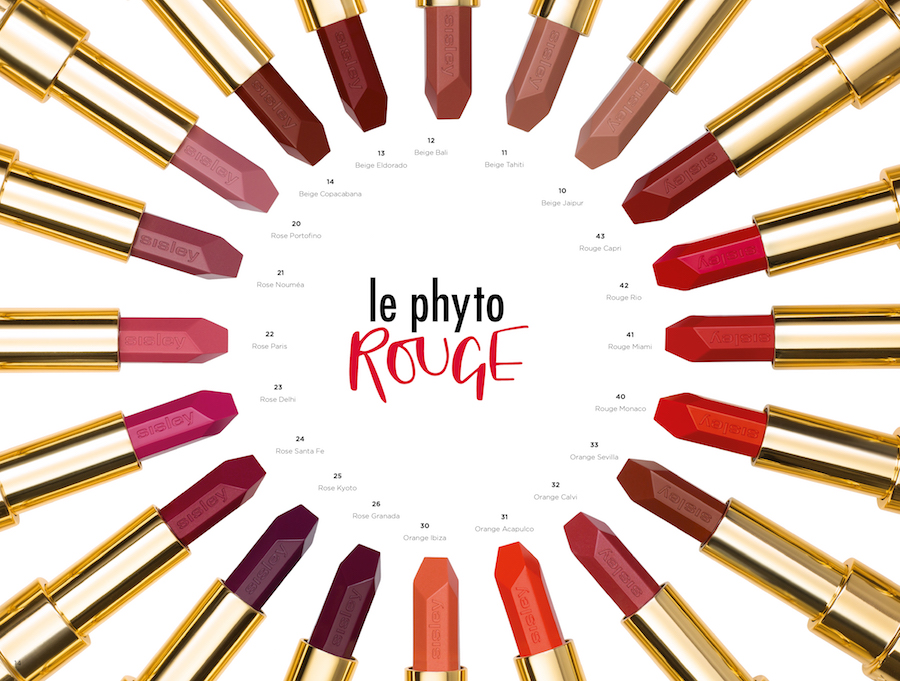 Alle Farbe des Le Phyto Rouge von Sisley Modepilot