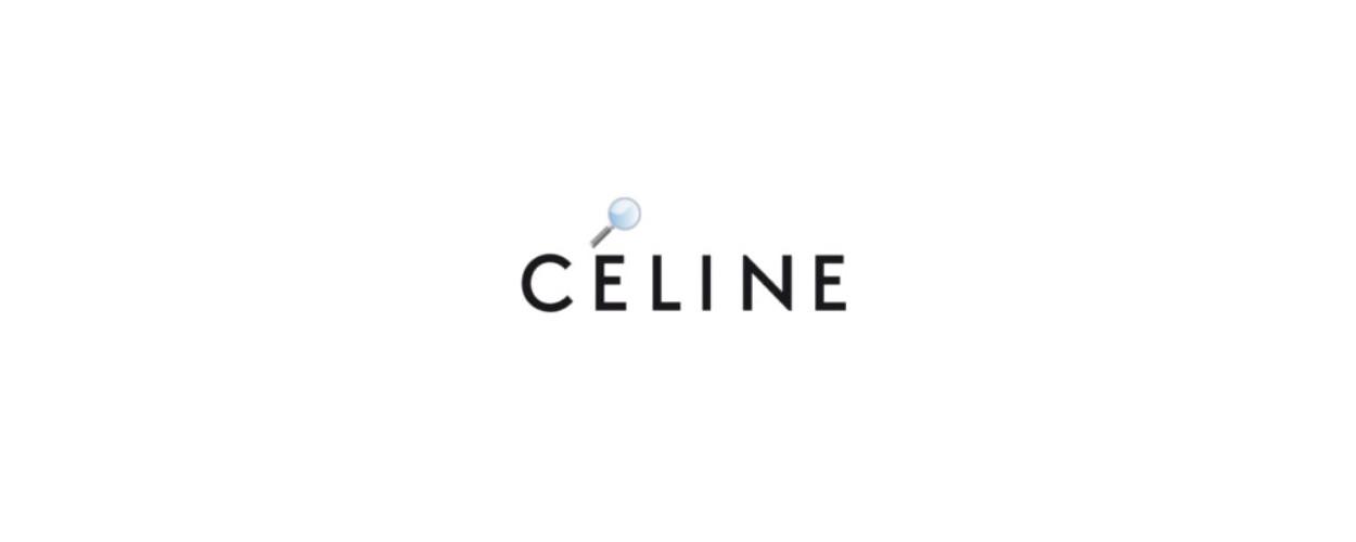 Celine neues Logo ohne Akzent Accent Modepilot