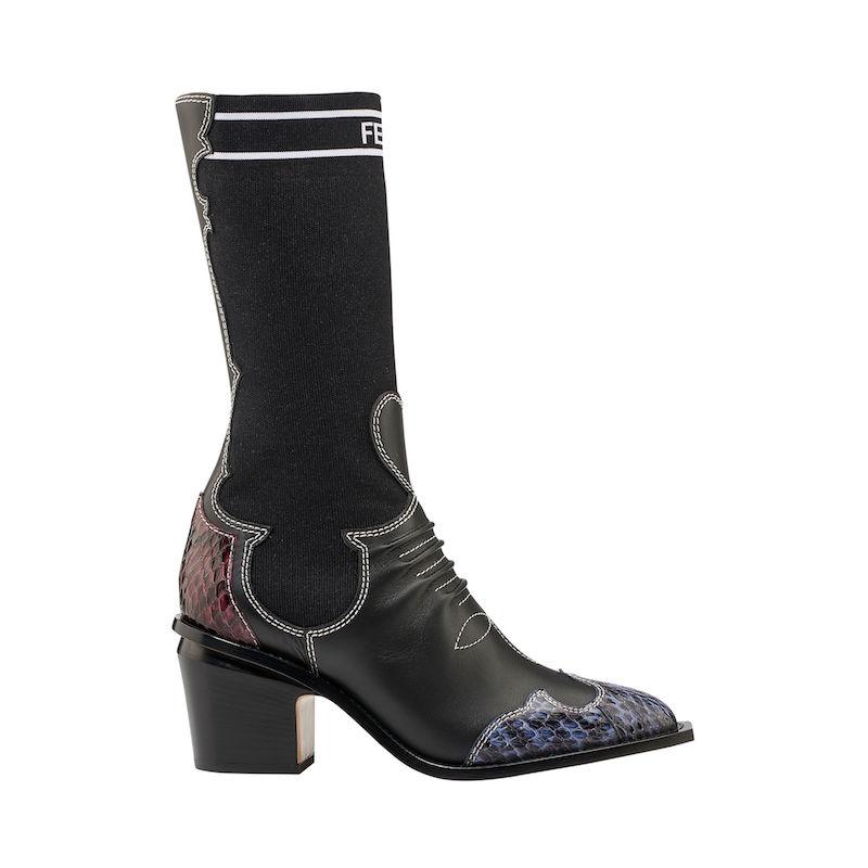 Fendi Cowboy boots socks Modepilot 2018