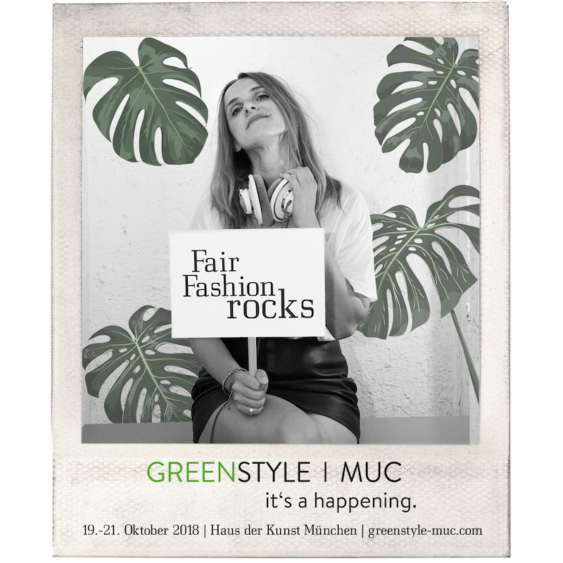 Modepilot Greenstyle Kampagne Fair Trade Munich