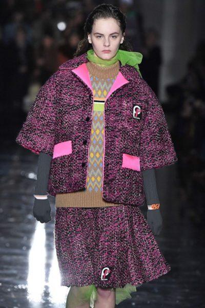 Kostümidee 2018 von Miuccia Prada