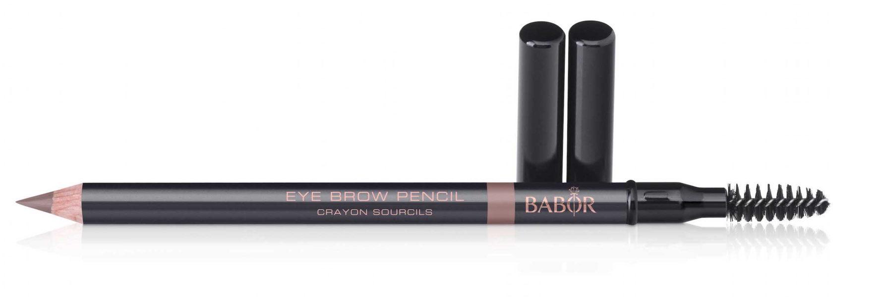 Der perfekte Brauenstift kommt in zwei Farben und von Babor, circa 13 Euro