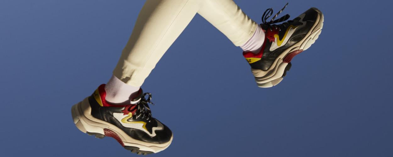 Chunky Sneaker Modepilot Ash Addict Ready to speak