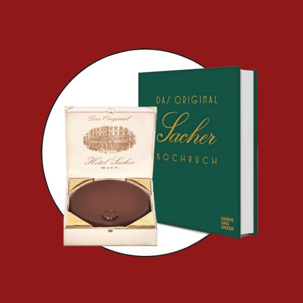 Tür 10: Die größte Original Sacher Torte plus Kochbuch
