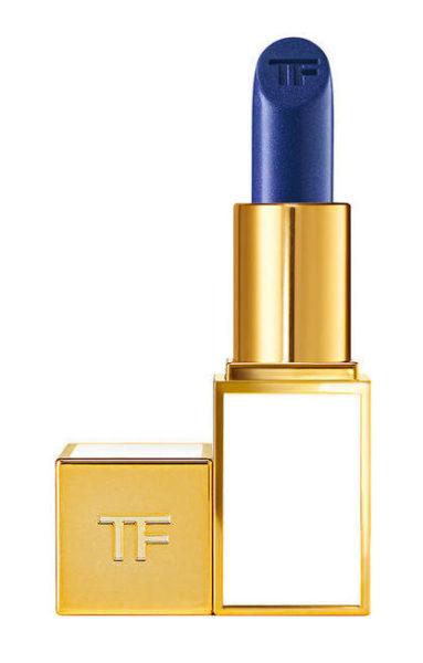 Kleiner Lippenstift von Tom Ford in der Farbe Blau