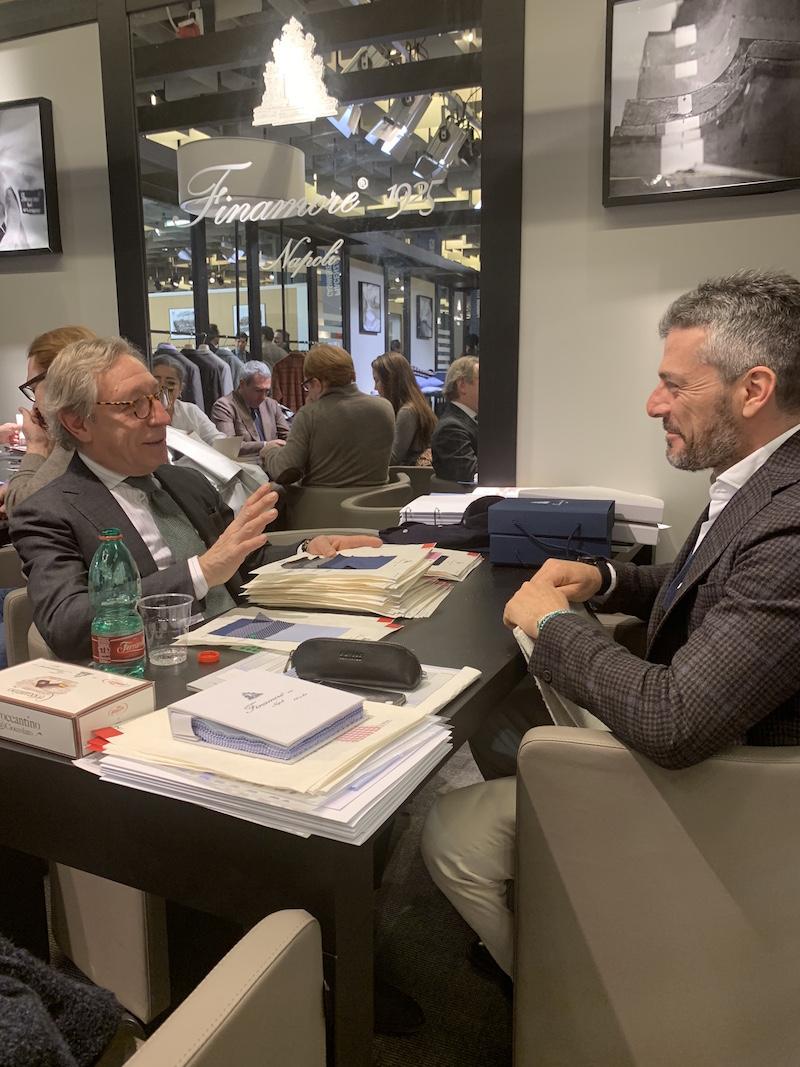 Modepilot Charly Diehl Herrenmode Pitti Uomo 2019