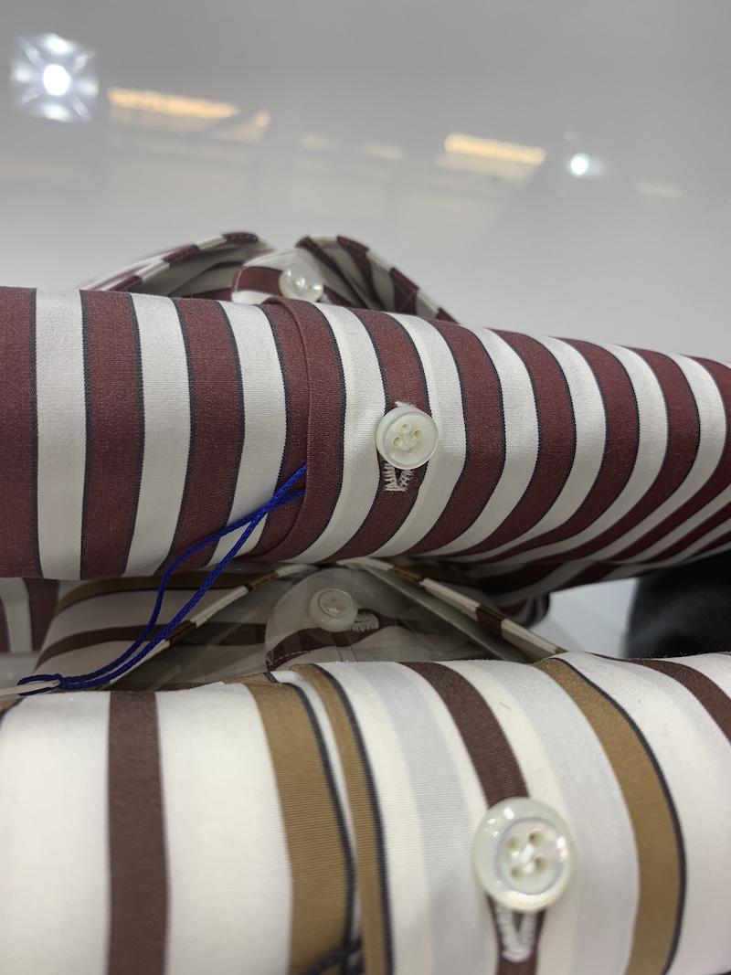 Modepilot Herrenhemden handgenäht Knopfloch Pitti Uomo