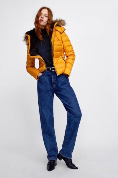 Zara-Jeans, die bald erst in den Läden eintreffen wird