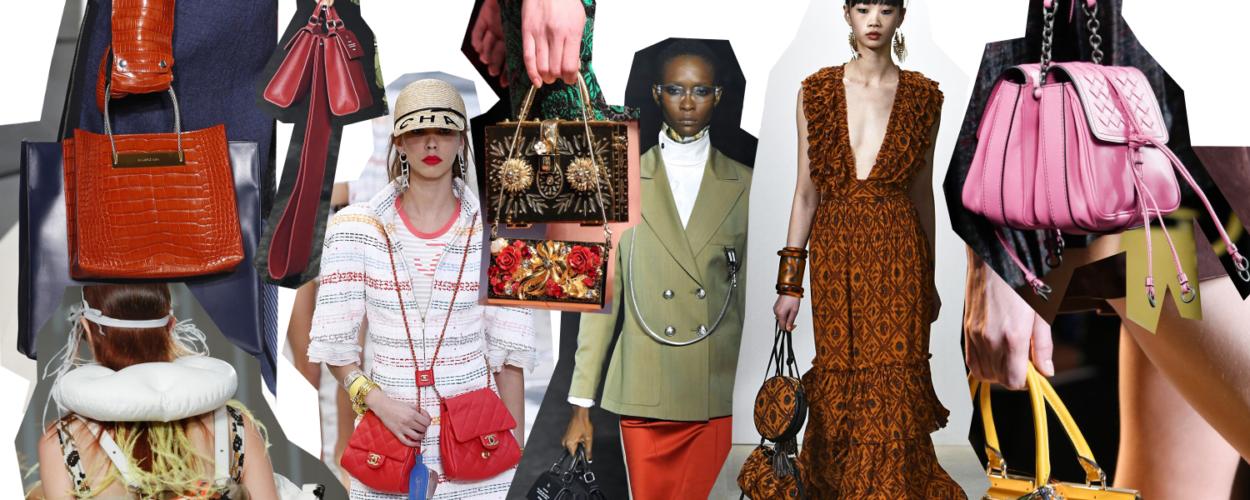Handtaschen doppelte twinning double handbags Modepilot