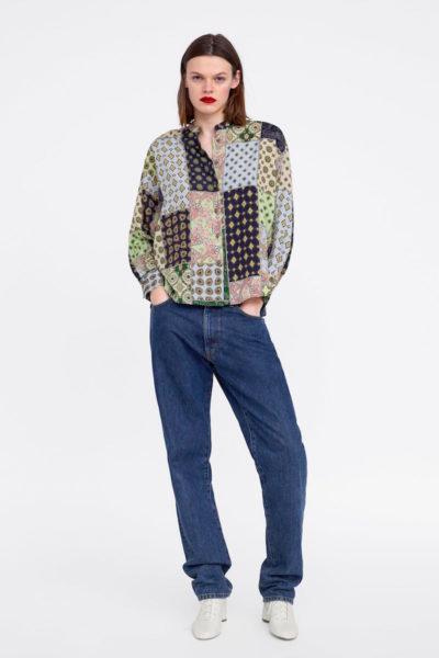 Aktuelles Styling bei Zara im Onlineshop