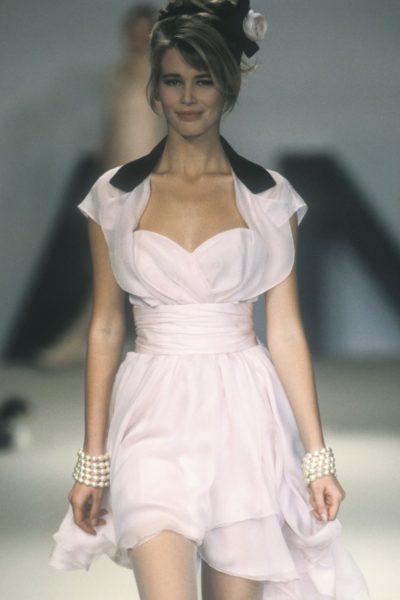 Claudia Schiffer, Sommerkollektion 1990