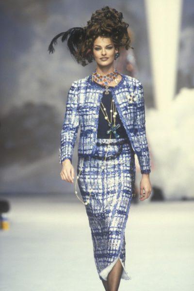 Linda Evangelista, Sommerkollektion 1992
