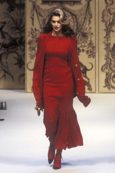 Cindy Crawford für die Sommerkollektion 1993