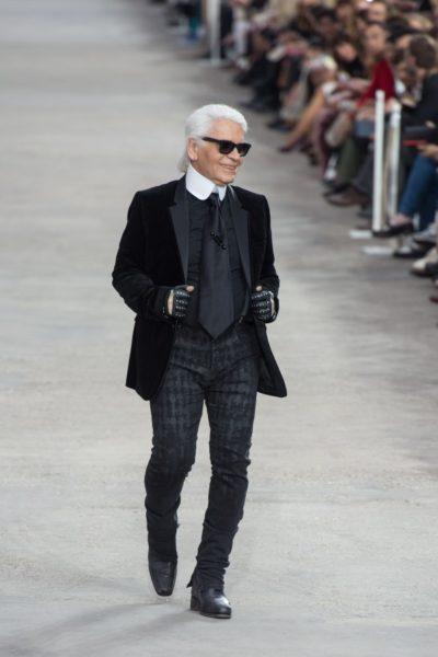 Karl Lagerfeld im Sommer 2013