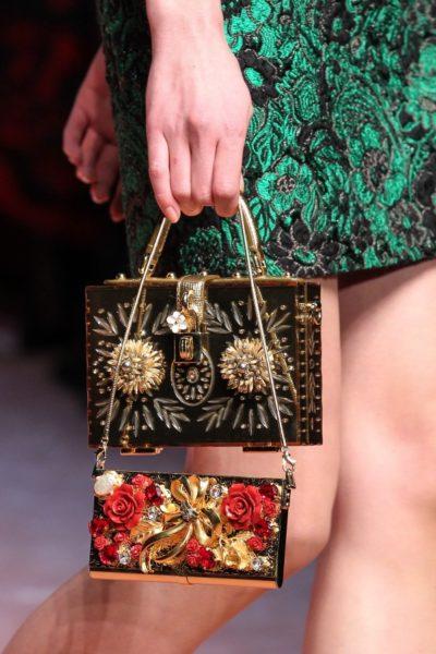 Auch die findigen Designer von Dolce & Gabbana sahen das Potential: Herbst/Winter 2015
