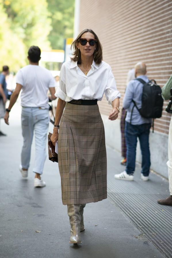 Modepilot Annette Weber Fendi Mailand Street Style