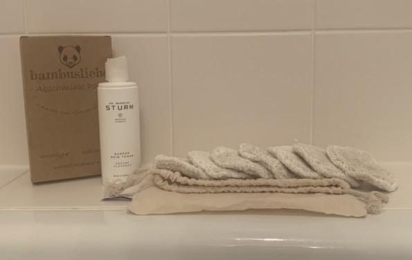 Badezimmer Abschminken Abschminkpads Enzym Powder Peeling Reinigung Modepilot