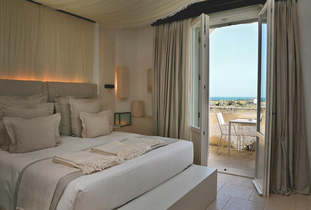 Modepilot Zimmer Borgo Egnazia Aussicht