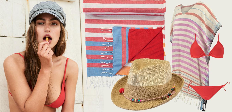 Collage Barts Gewinnspiel Sommer Urlaub rot Modepilot