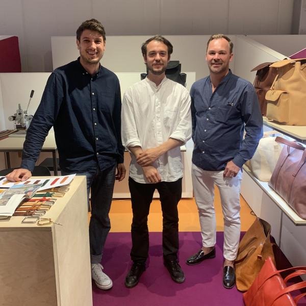 Mit Lodenfrey-Chefeinkäufer Haufellner auf der Modemesse unterwegs
