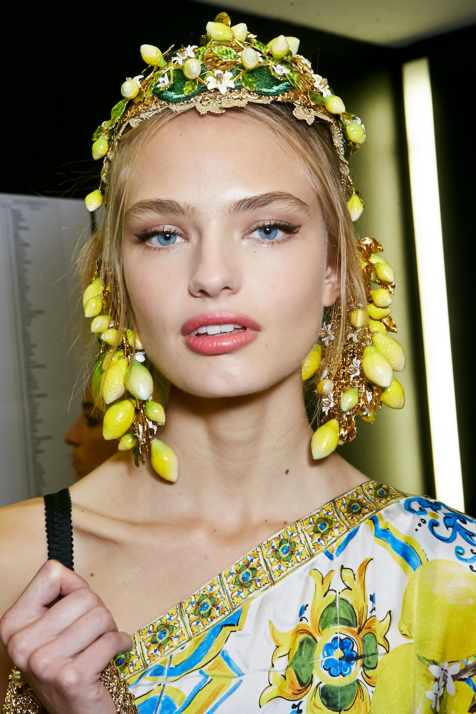 Modepilot Dolce Gabbana Zitronen Lemons Backstage