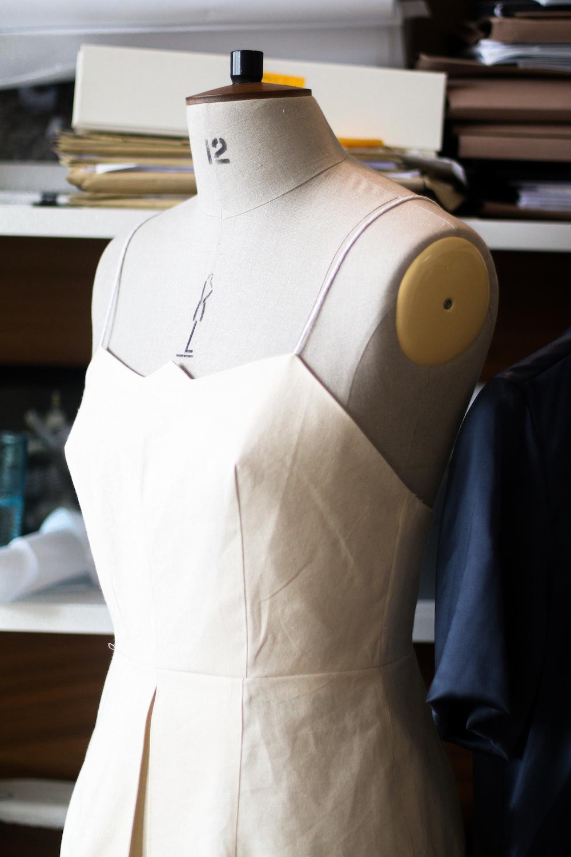 Schneiderbüste Sommerkleid Modepilot