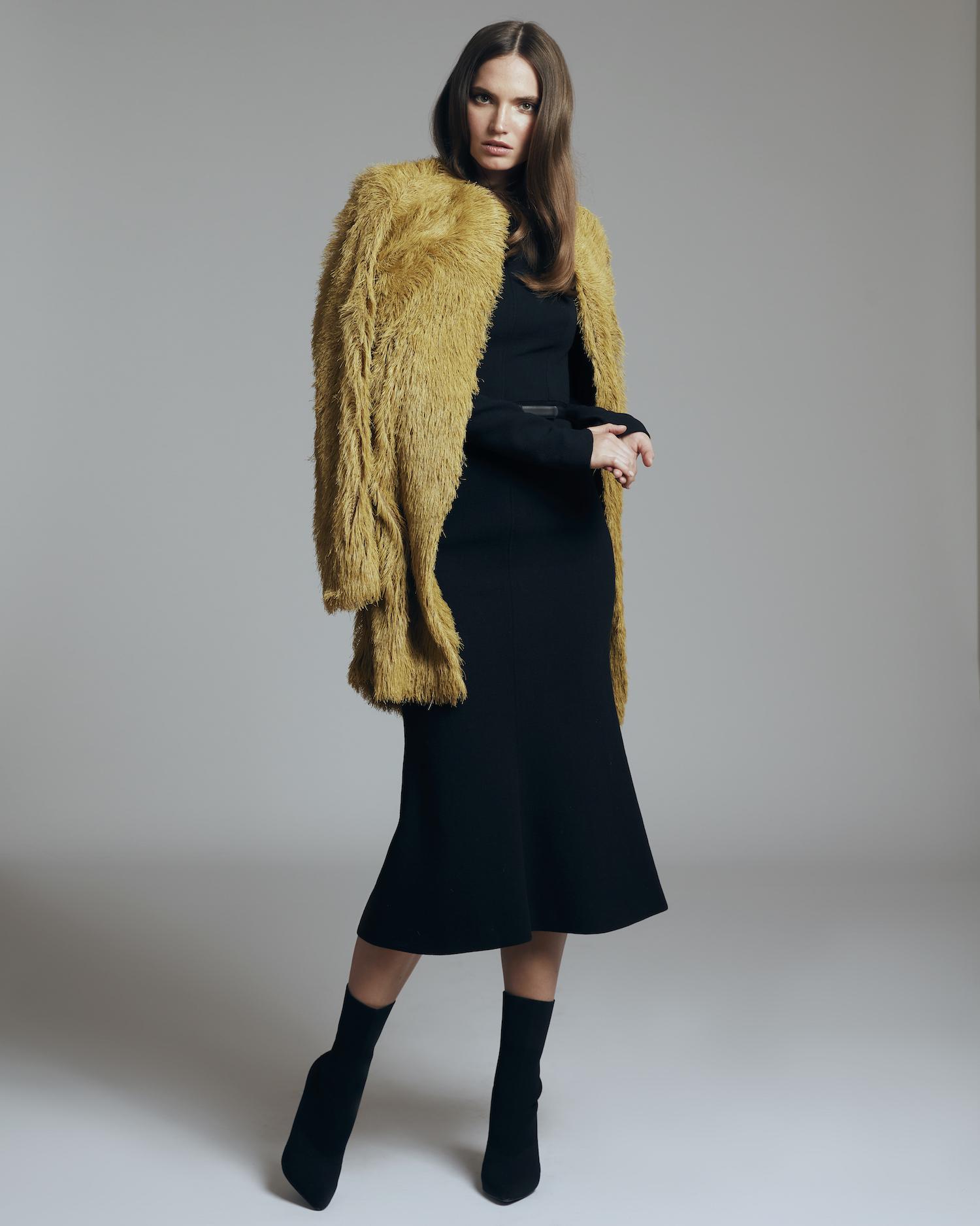 Dimitri Kleid schwarz Modepilot Gewinnspiel Adventskalender