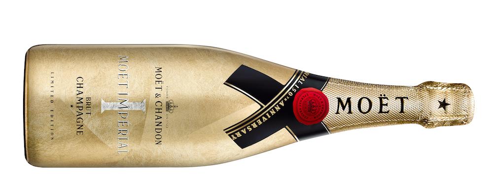 Brut-Champagner 'Moët Impérial' Jubiläumsedition in Gold