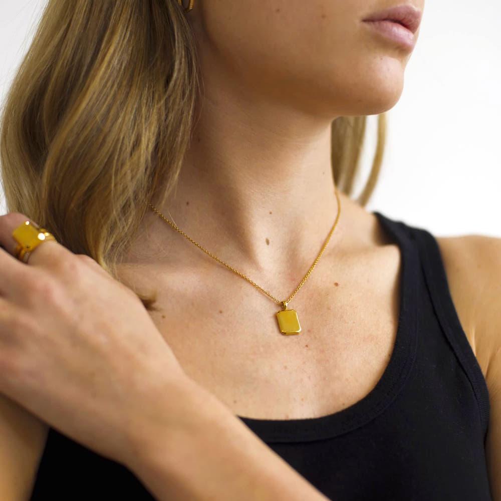 Modepilot Atelier Romy Halskette Gold