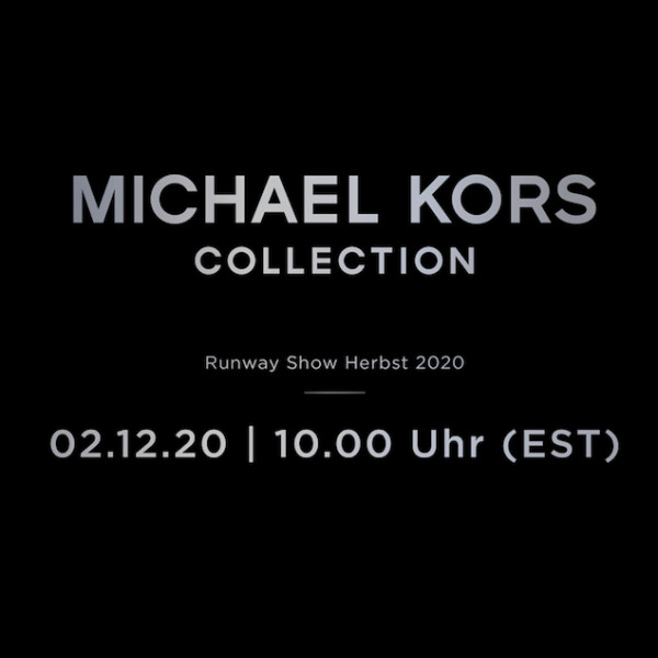 Michael Kors Livestream von der New York Fashion Week
