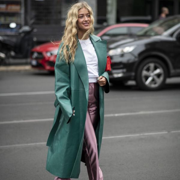 Neue Stiletikette: Extra lange Hosen