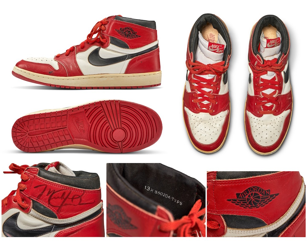 Air Jordan 1 Chicago Sotheby's Modepilot
