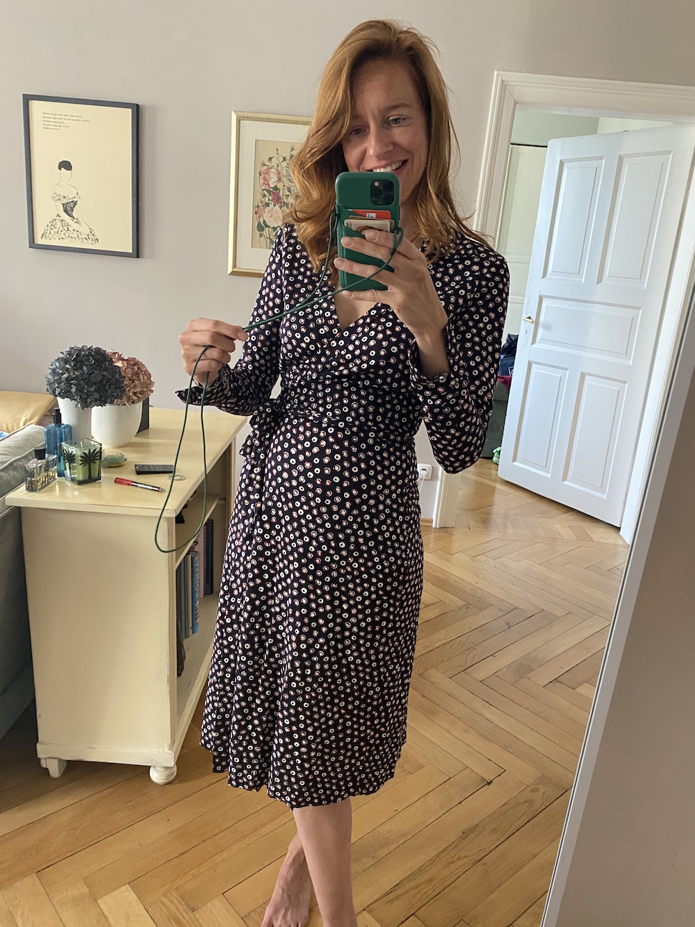 Modepilot Schwangerschaftsmode Diane von Furstenberg
