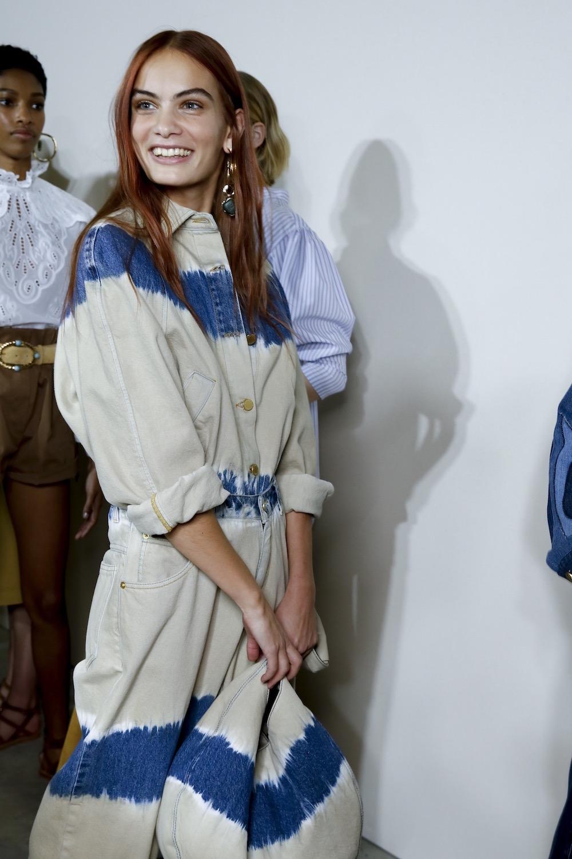 Alberta Ferretti Backstage Sommer 2020 Modepilot