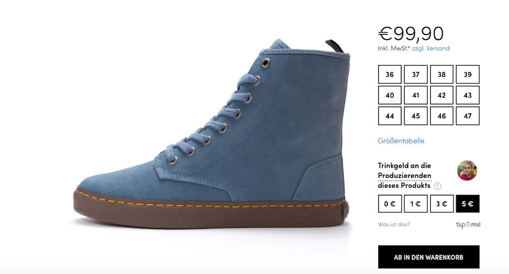 Modepilot Tip Me Ethletics Schuhe