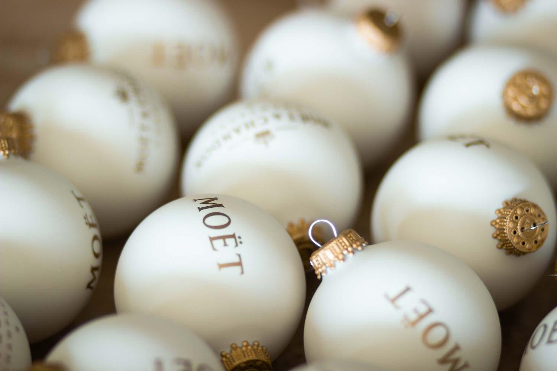 Moet Chandon Weihnachtskugeln Modepilot