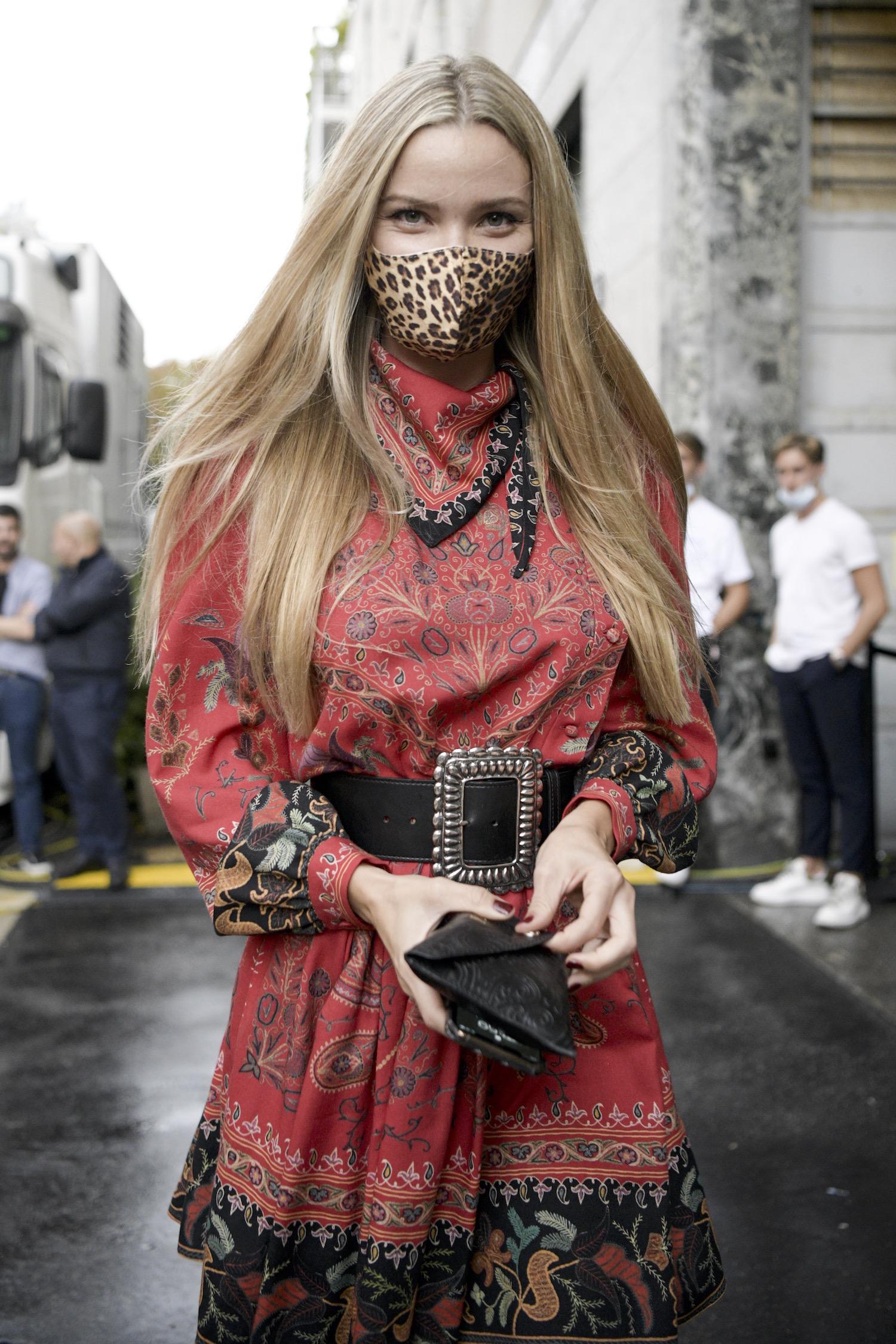 Etro Street Style mask Modepilot
