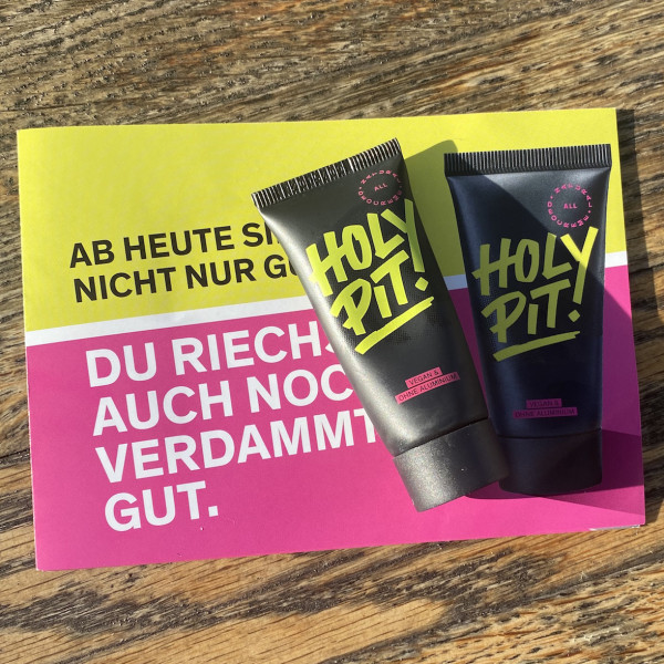 """Kluges Deo"": Holy Pit! im Test"