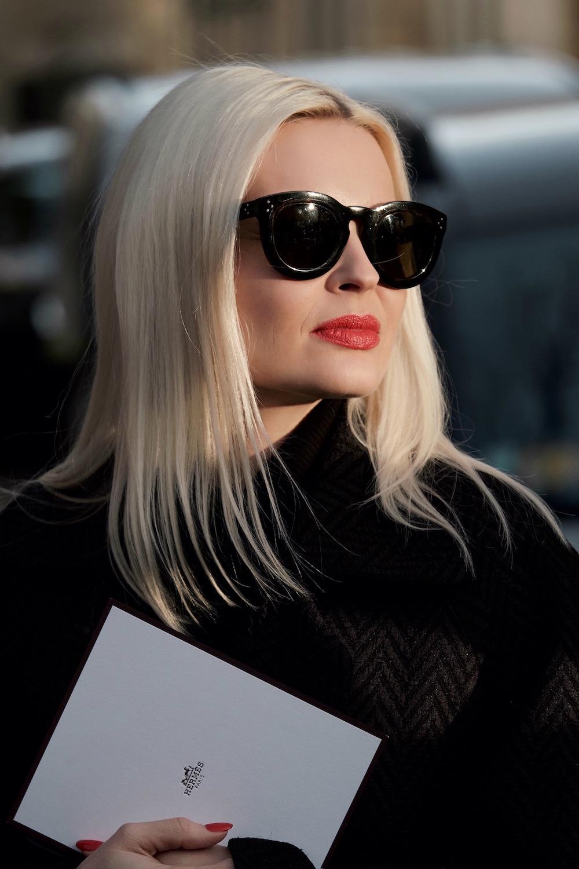 Theresa Pichler in Paris Modepilot