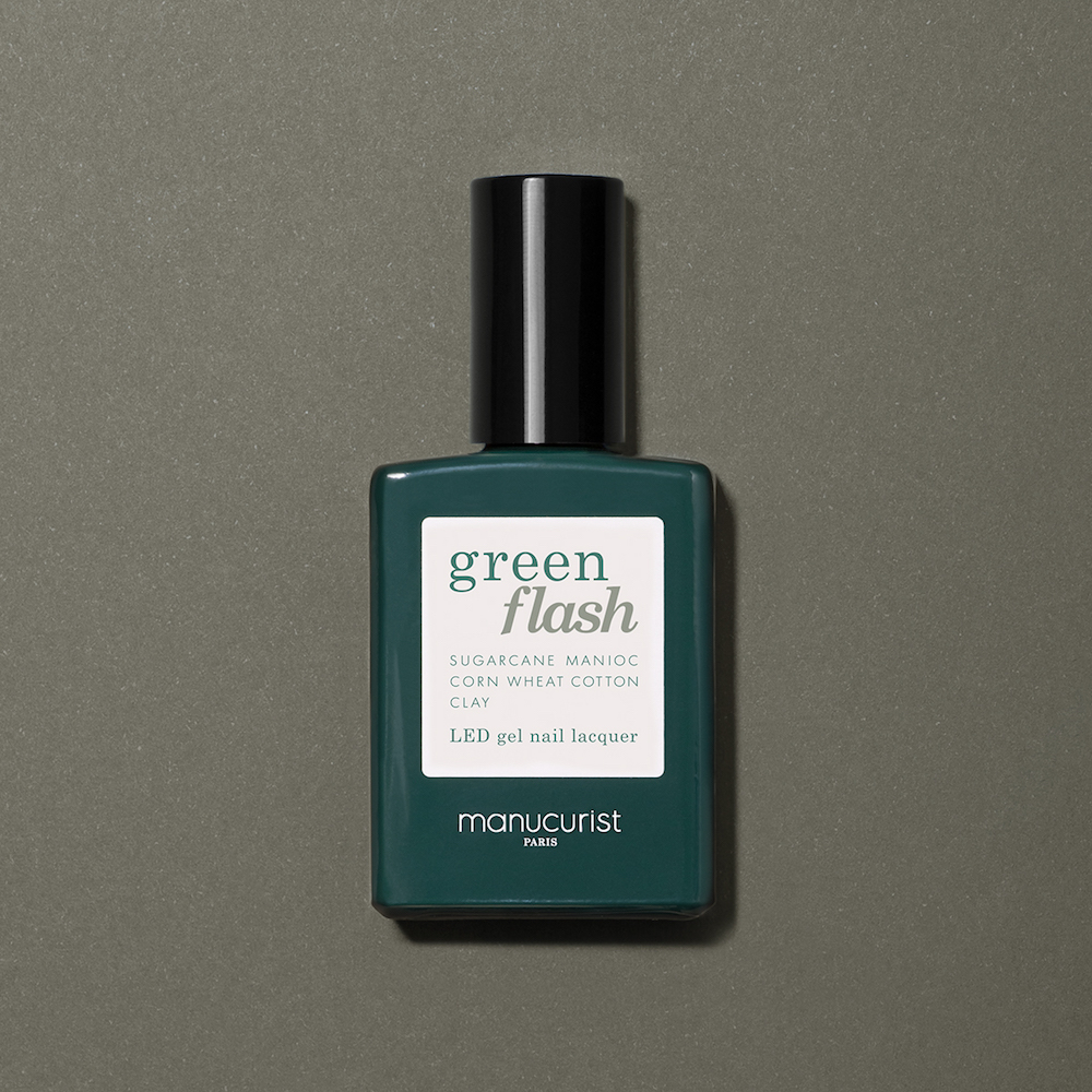 Khaki Nagellack Green Flash Manicurist