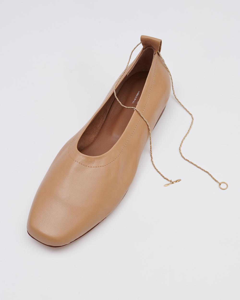 Modepilot Ballerinas mit Fußkettchen