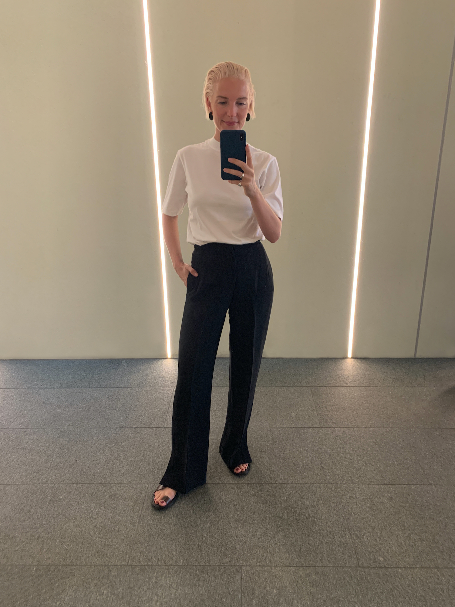 weißes T-Shirt Marre Mujis Modepilot