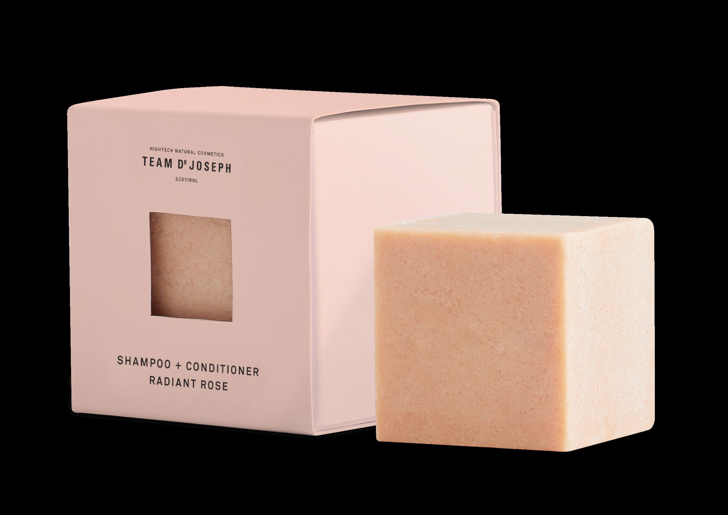 Radiant Rose Shampoo + Conditioner von TEAM DR JOSEPH 60g 18,- cube