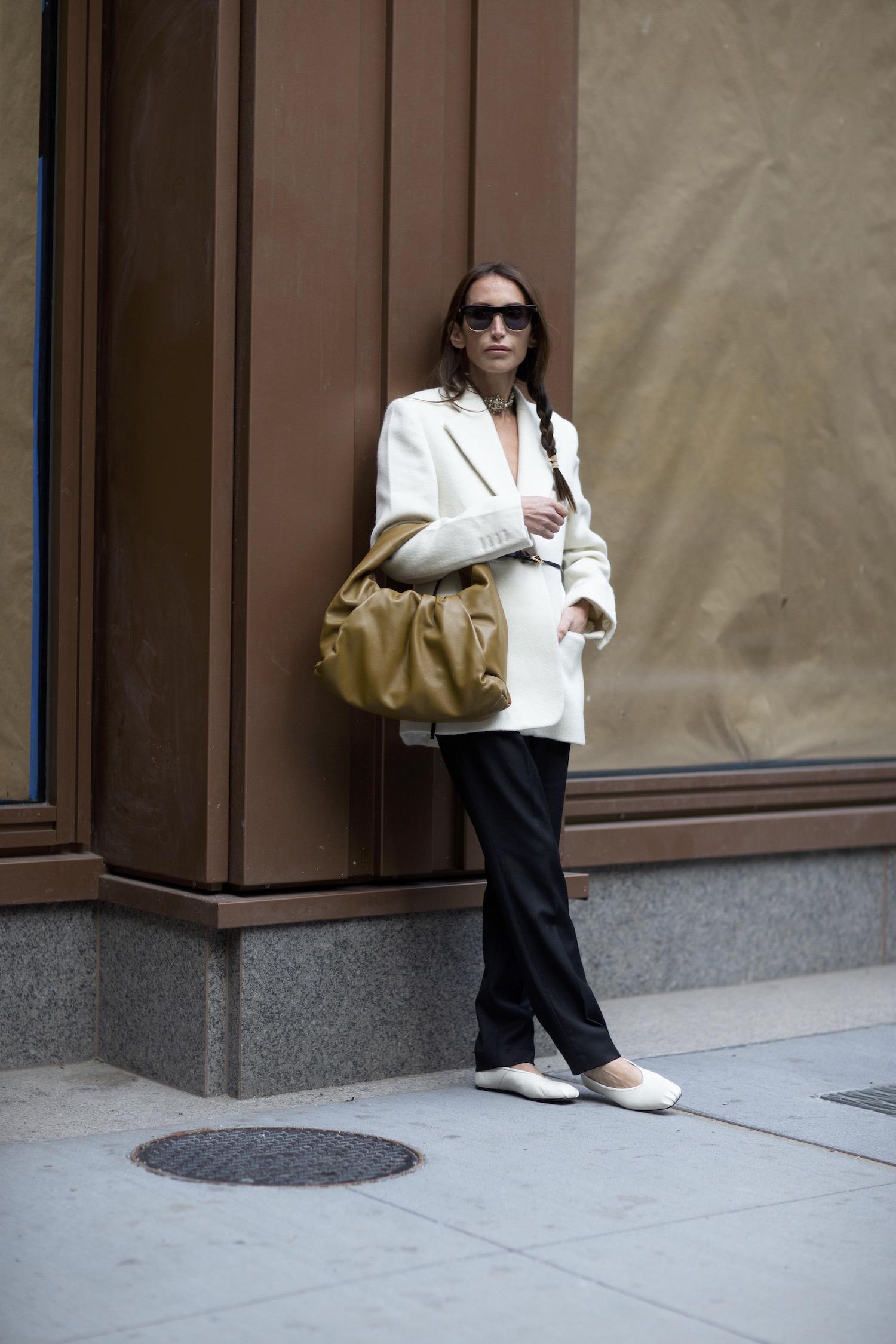 Croissant bag Street Style modepilot